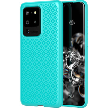 Tech21 Studio Design Case for Samsung Galaxy S20 Ultra (Aqua)
