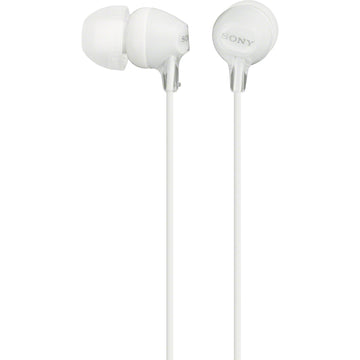 Sony MDR-EX15LP In-Ear Headphones (White)