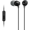 Sony MDR-EX15AP EX Monitor In-Ear Headphones (Black)