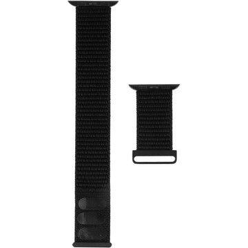 Case-Mate Nylon Watchband for Apple Watch [42-44mm] (Black)