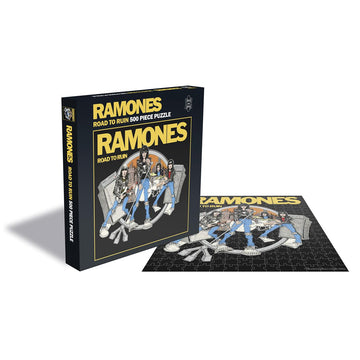 The Ramones: Road To Ruin - 500 Piece Jigsaw Puzzle