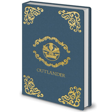 Outlander - Crest Blue Notebook