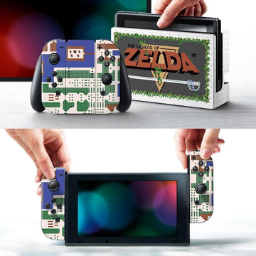 "Nintendo Switch Zelda ""Retro\"" Skin"
