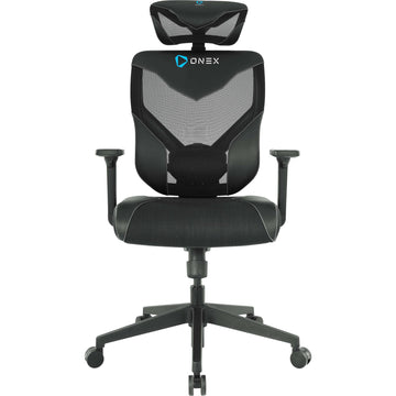 ONEX GT-V7-X Black Vida Ergonomic Office Chair (Black)