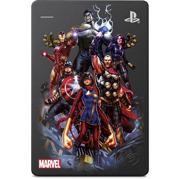 Seagate 2TB Game Drive for PS4 Marvel Avengers Assembled Limited Edition