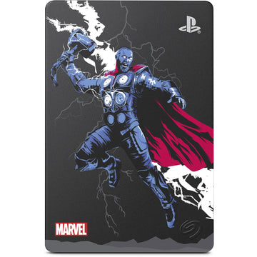 Seagate 2TB Game Drive for PS4 Marvel Avengers Thor Limited Edition