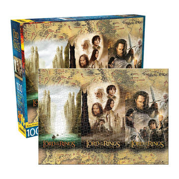 Lord Of The Rings Triptych - 1000 Piece Jigsaw