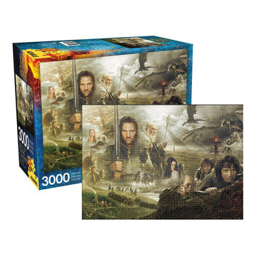 Lord of the Rings: Saga - 3000 Piece Jigsaw Puzzle