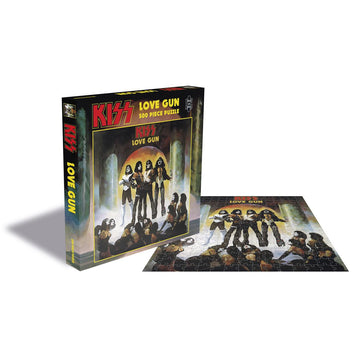 Kiss: Love Gun - 500 Piece Jigsaw Puzzle