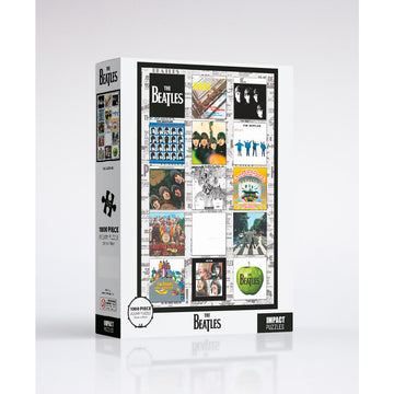 The Beatles: Album Cover - 1000 Piece Jigsaw Puzzle