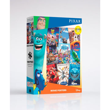 Pixar: Classic Poster Montage - 1000 Piece Jigsaw Puzzle