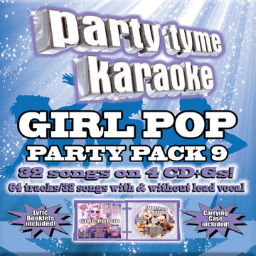 Girl Pop Party Pack 9 (Karaoke)