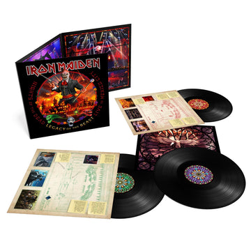 Nights Of The Dead – Legacy Of The Beast, Live In Mexico City (180gm Vinyl)