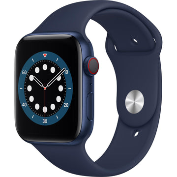 Apple Watch Series 6 44mm Blue Aluminium Case GPS + Celluar