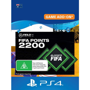 FIFA 21 2,200 Ultimate Team Points (Digital Download)