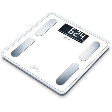 Beurer Signature Line Digital Glass Body Fat Scale (White)