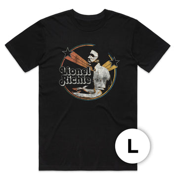 Lionel Ritchie - Stars T-Shirt (Large)