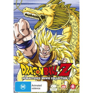 Dragon Ball Z: Remastered Movie Collection 2 (Uncut)
