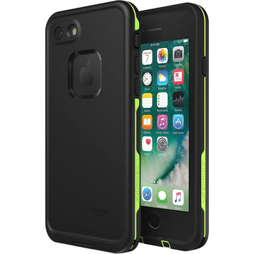 LifeProof FRE Case for iPhone SE/8/7 (Black Lime)
