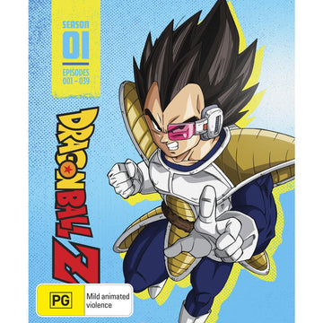 Dragon Ball Z - Season 1 (Limited Edition Steelbook)