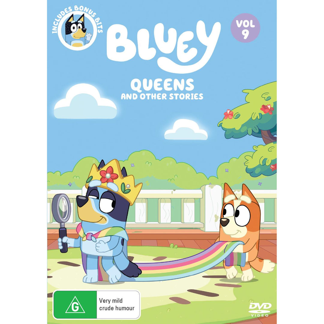 Bluey Queens And Other Stories Jb Hi Fi