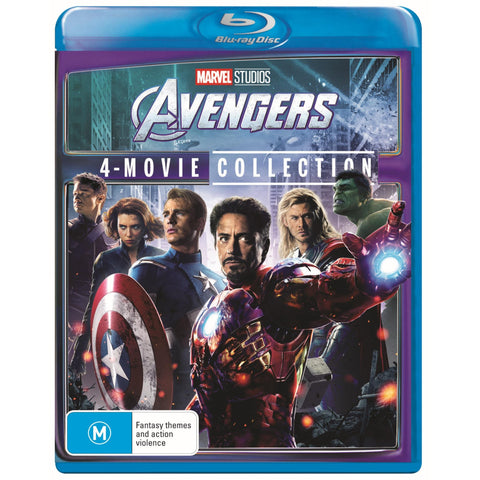 Image of Avengers - 4 Film Collection