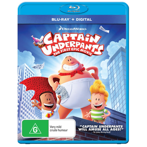 Captain Underpants The First Epic Movie Jb Hi Fi