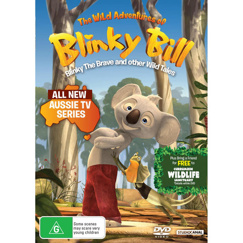 Image of Wild Adventures Of Blinky Bill, The - Blinky The Brave And Other Wild Tales