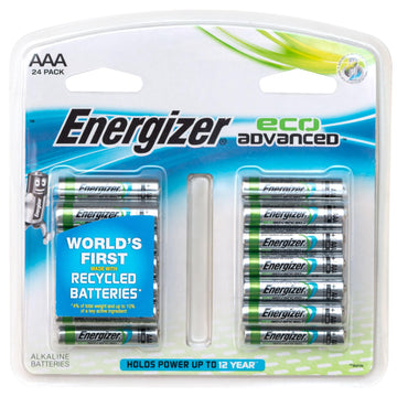 Energizer Eco Advanced AAA (24-pack)
