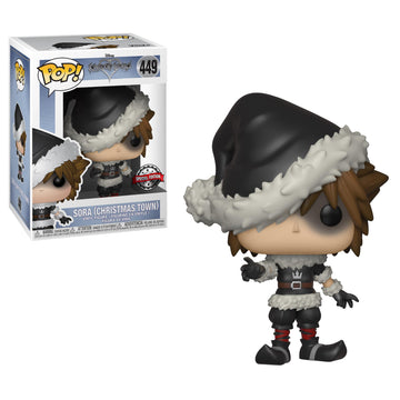 Kingdom Hearts III - Sora (Christmas Town) POP! Vinyl