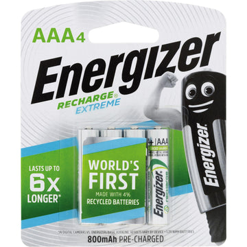 Energizer Rechargeable AAA Battery (4-pack)
