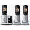 Panasonic KX-TGC223ALS Digital Cordless Answering System Triple Handset