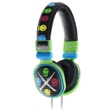 Moki Poppers Over-Ear Headphones (Skull)