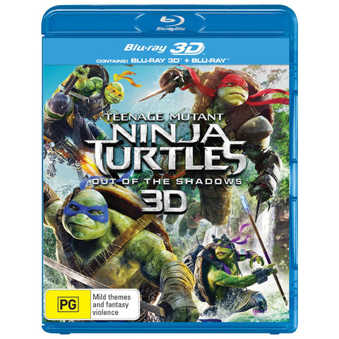 Teenage Mutant Ninja Turtles Out Of The Shadows Jb Hi Fi