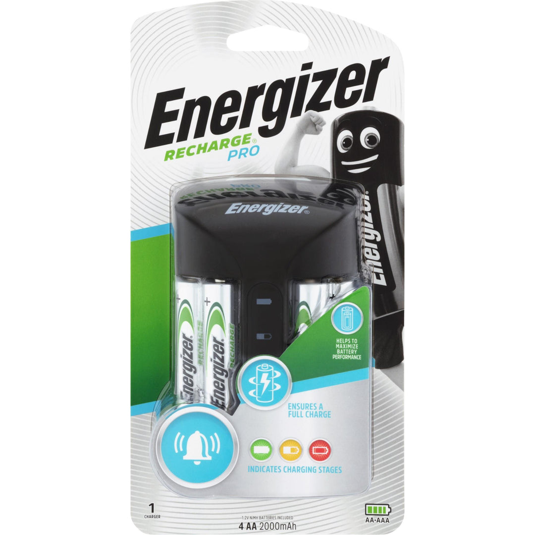 Energizer Pro Charger With 4 Aa Batteries Jb Hi Fi