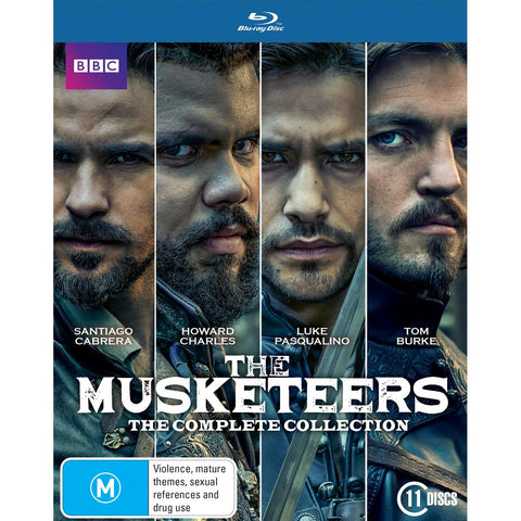 Musketeers, The - Series 1-3