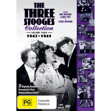 Three Stooges Collection - Volume 4