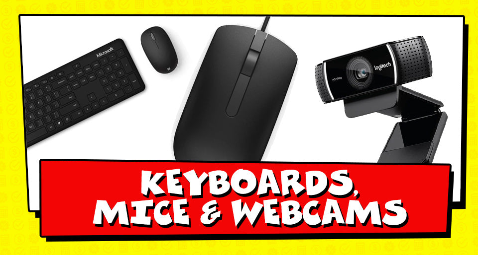 Tax Time Deals on Keyboards and Mice