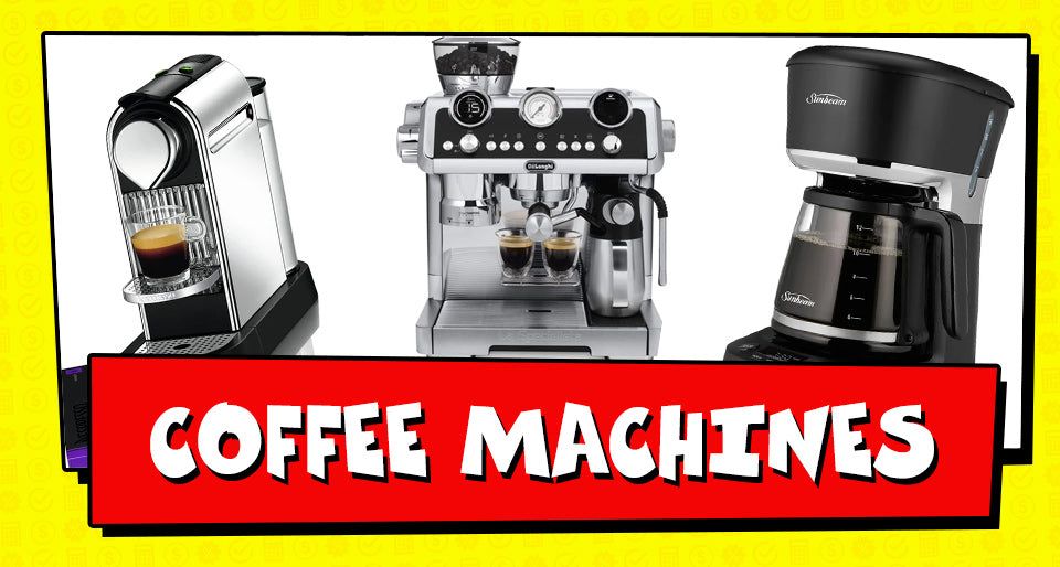 Tax Time Deals on Coffee Machines