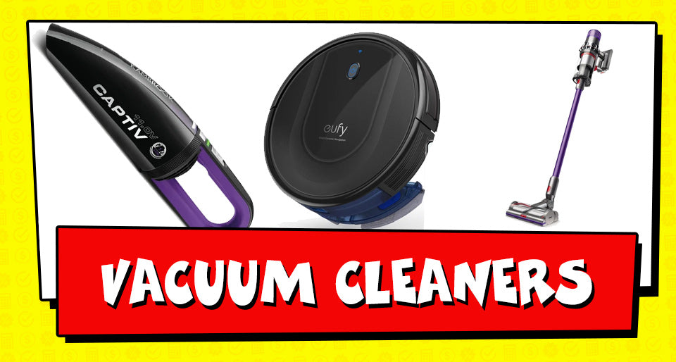 Tax Time Deals on Vacuum Cleaners