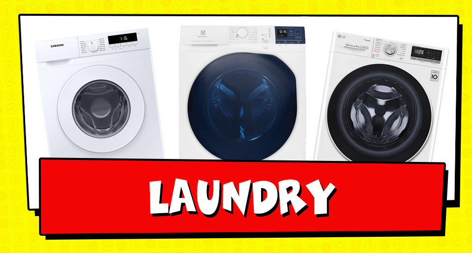 Tax Time Deals on Laundry