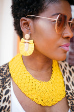 Load image into Gallery viewer, Crushing Goals Statement Earrings