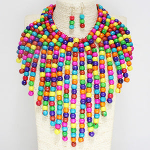 """Queen Size"" Statement Necklace"