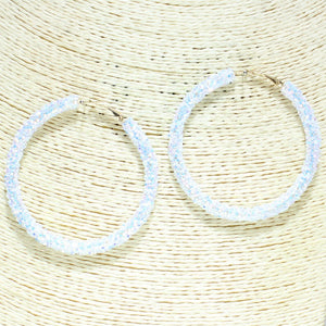 Glitter Sequin Hoops