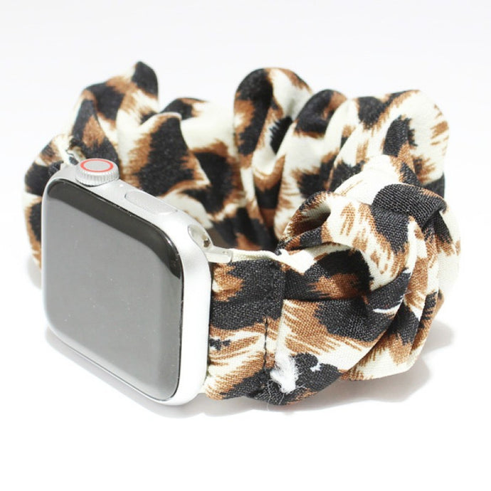 Scrunchie Apple Wrist Band