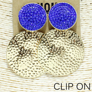 Prize Posession Clip On Earrings