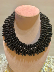 Braided Statement Bib