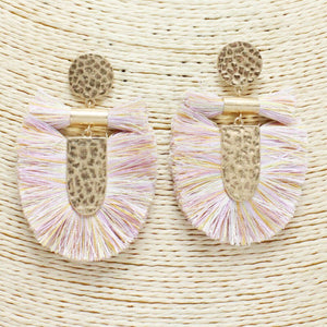 Crushing Goals Statement Earrings
