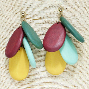"""Drops of Color"" Earrings"