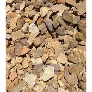 16 Ton Crushed Gravel - Brown 19MM